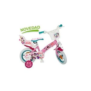 Bicicleta pentru fetite Minnie Mouse Club House 12 inch imagine