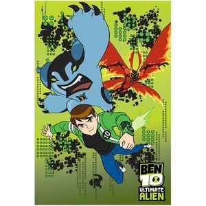 Covor copii Ben10 model 72 140x200 cm Disney imagine