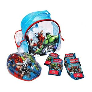 AVENGERS - SET PROTECTIE (CASCA, GENUNCHIERE, COTIERE) imagine