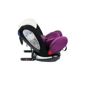 Scaun auto Mandara 0-36 kg cu Isofix Crocodile Purple imagine