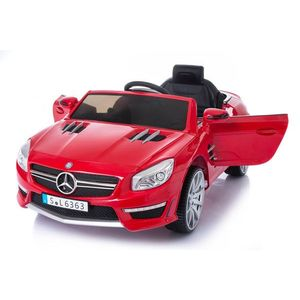 Masinuta electrica cu roti din cauciuc Mercedes Benz AMG SL63 Red imagine