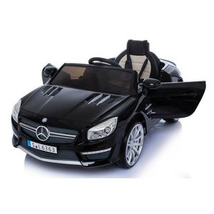 Masinuta electrica cu roti din cauciuc Mercedes Benz AMG SL63 Black imagine