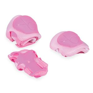 Set protectii cotiere, genunchiere si brate Pink imagine