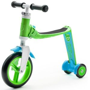 Trotineta copii transformabila 2 in 1 Scoot Ride Highwaybaby+ verdealbastru imagine