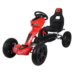 Kart cu pedale Go Kart Red imagine