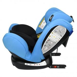 Scaun Auto Riola 0-36 kg cu Isofix Crocodile Blue imagine