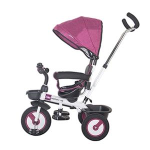 Tricicleta multifunctionala MamaLove Rider Violet imagine
