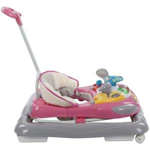 Premergator cu control parental Sun Baby Super Car Roz cu Gri imagine