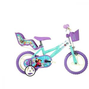 Bicicleta copii 12 Frozen Dino Bikes imagine
