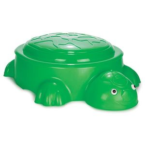 Cutie de nisip Turtle Dark green imagine