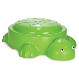 Cutie de nisip Turtle Light Green imagine