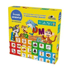 Joc educativ Noriel - Invata alfabetul imagine