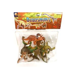 Set 6 figurine Dinozauri imagine