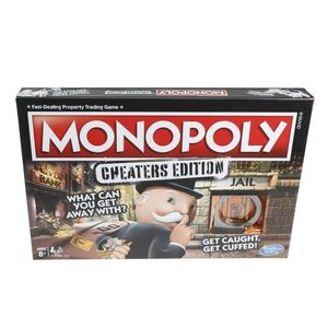 Joc de societate Monopoly Cheaters edition imagine