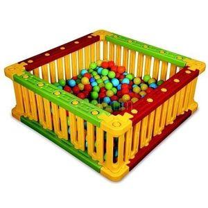 Spatiu De Joaca Patrat Pentru Bile King Kids imagine