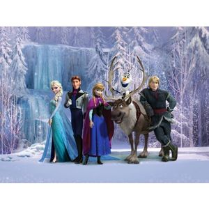 Fototapt Disney Frozen Elsa personaje - 360 x 270 cm imagine