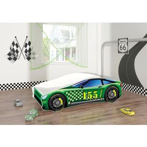 Pat Tineret MyKids Race Car 04 Green-160x80 imagine