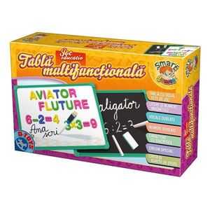 Joc Educativ - Tablă Multifuncțională Educativă cu Numere și Alfabet imagine