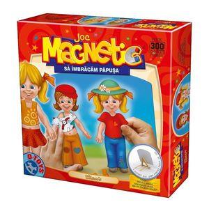 Joc Magnetic - Să Îmbrăcăm Păpușa - Clasic imagine
