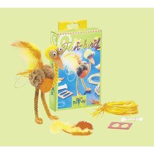 Set Creație - Figurină Ștruț din Fire de Impletit - Fun Bird imagine