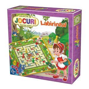 Joc Labirintul cu Scufița Roșie imagine