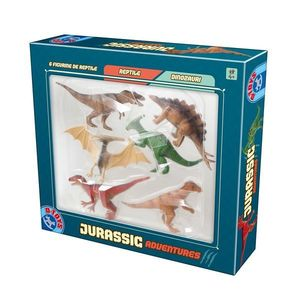 Joc Jurassic Adventures - 6 Figurine Dinozauri imagine