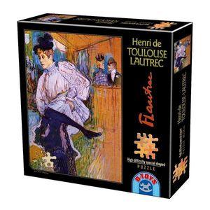 Puzzle Special - Henri de Toulouse-Lautrec - Jane Avril Dancing - 515 Piese imagine