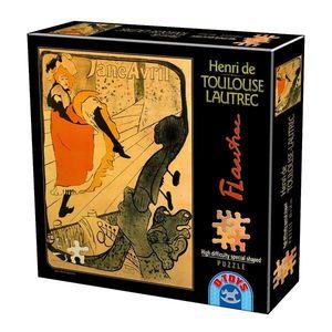 Puzzle Special - Henri de Toulouse-Lautrec - Jane Avril - 515 Piese imagine