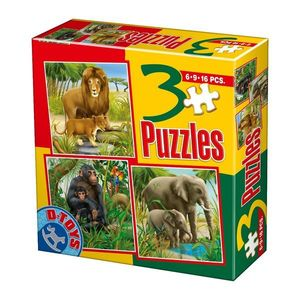 3 Puzzles - Animale Domestice - 4 imagine