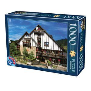 Puzzle - Imagini din România - Hotel Plai de Dor Bucovina - 1000 Piese imagine