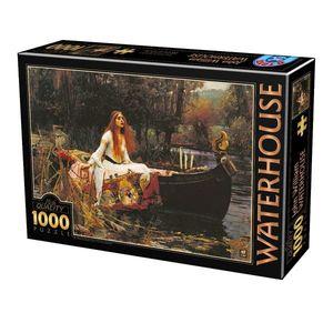 Puzzle John William Waterhouse - The Lady of Shalott - 1000 Piese imagine