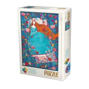 Puzzle Kürti Andrea - Sleeping Beauty - 1000 Piese imagine