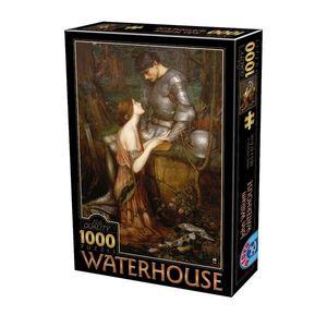 Puzzle John William Waterhouse - Lamia - 1000 Piese imagine