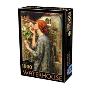 Puzzle John William Waterhouse - The Soul of the Rose - 1000 Piese imagine