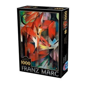 Puzzle Franz Marc - Foxes - 1000 Piese imagine