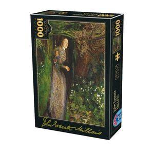 Puzzle John Everett Millais - Ophelia - 1000 Piese imagine