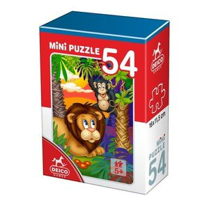 Minipuzzle animale 54 piese imagine