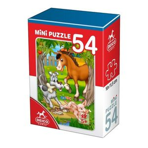 Mini Puzzle - Animale - 54 Piese - 3 imagine
