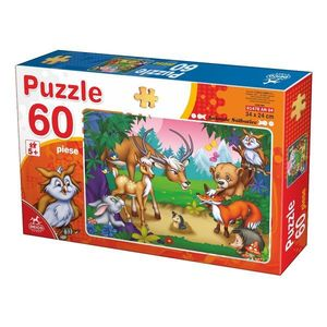 Puzzle - Animale - 60 Piese - 4 imagine