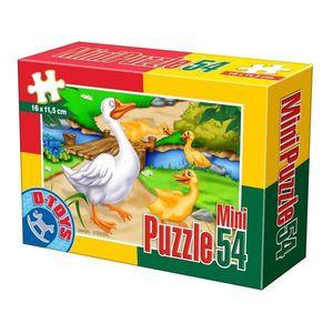 Mini Puzzle - Animale Domestice și Sălbatice - 54 Piese - 5 imagine