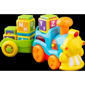 Noriel Bebe - Trenuletul cu litere, Jucarie Bebelusi imagine