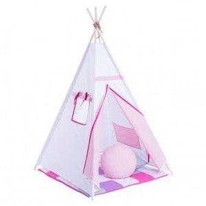 Set Cort de joaca Dare to Dream Zambete roz cu saltea si perne imagine