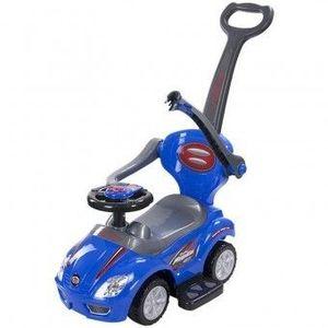 Masinuta Mega Car Delux - Sun Baby - Albastru imagine