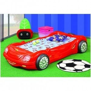 Patut masina pentru copii Plastiko Bobo Car Rosu imagine