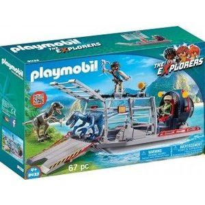 PlayMobil 4Ani+ CERCETATORI - FERIBOT SI RAPTOR imagine