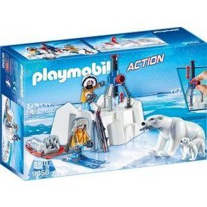 PlayMobil 4Ani+ CERCETATORI SI URSI POLARI imagine