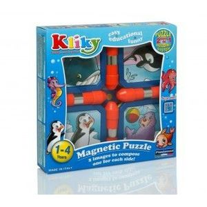 KLIKY PUZZLE Copii 1An+ MAGNETIC ANIMALE MARINE imagine