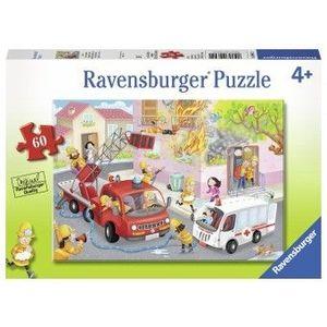 Puzzle Copii 4Ani+ salvarea, 60 piese imagine