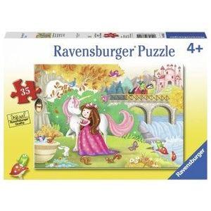Puzzle Copii 4Ani+ la plimbare, 35 piese imagine