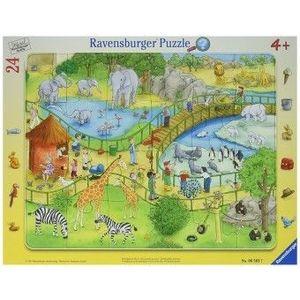Puzzle 4Ani+ distractie la zoo, 24 piese imagine
